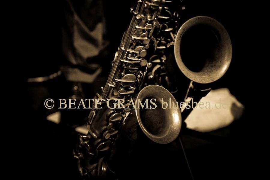 Pete Yorks Drum Boogie mit Stephan Holstein Saxophonist