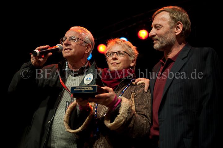 vlnr: Art Tipaldi, Barbara Bloch, Helge Nickel