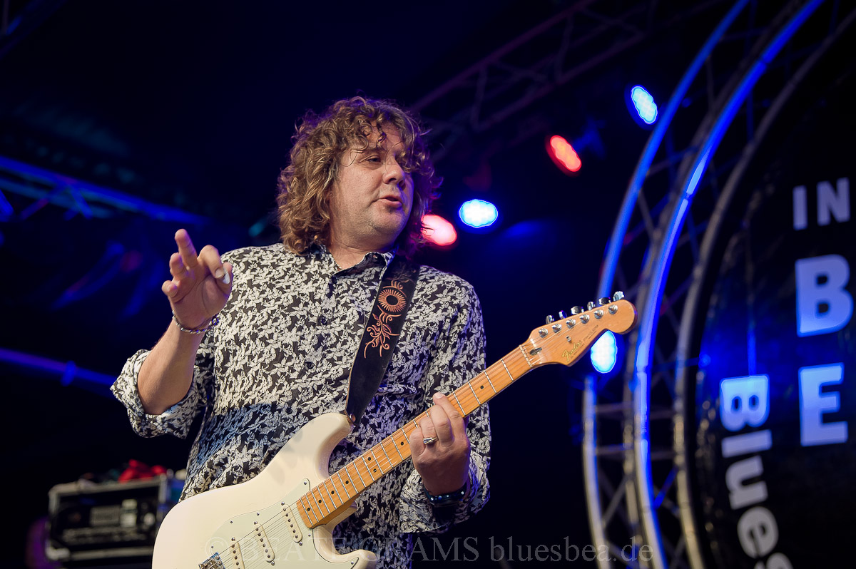 Sean Chambers Band (USA) - BluesfestivalEutin 2019