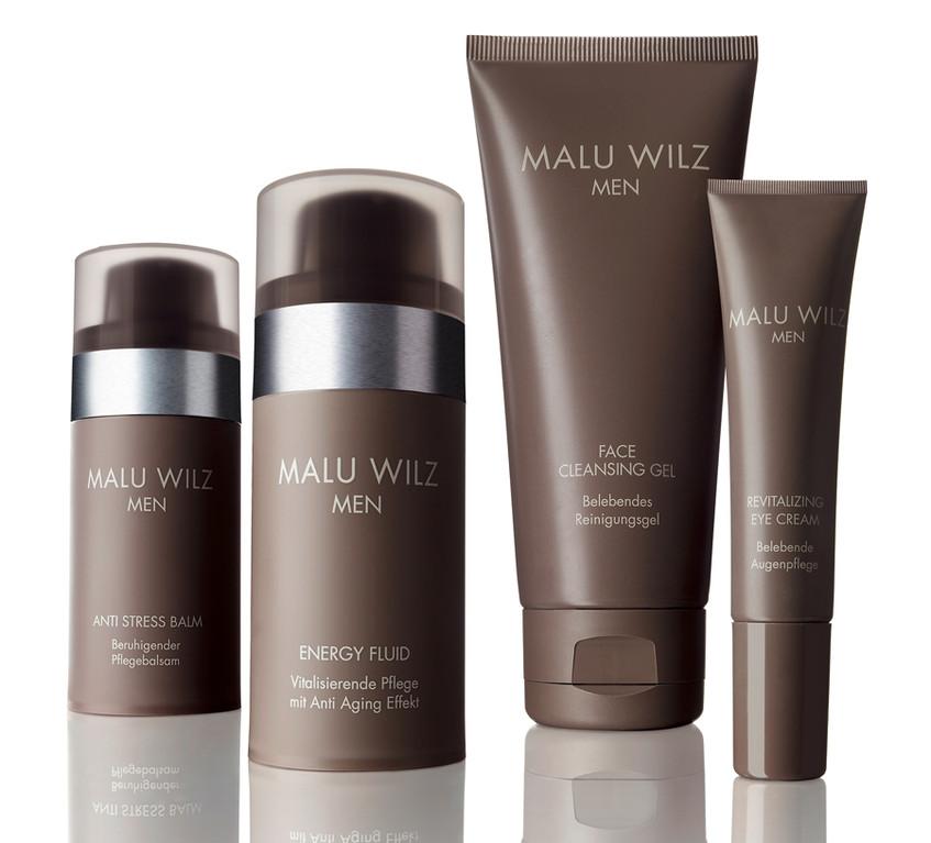 Anti Stress Balm, Energy Fuid, Face Cleaning Gel, Revitalizing Eye Cream