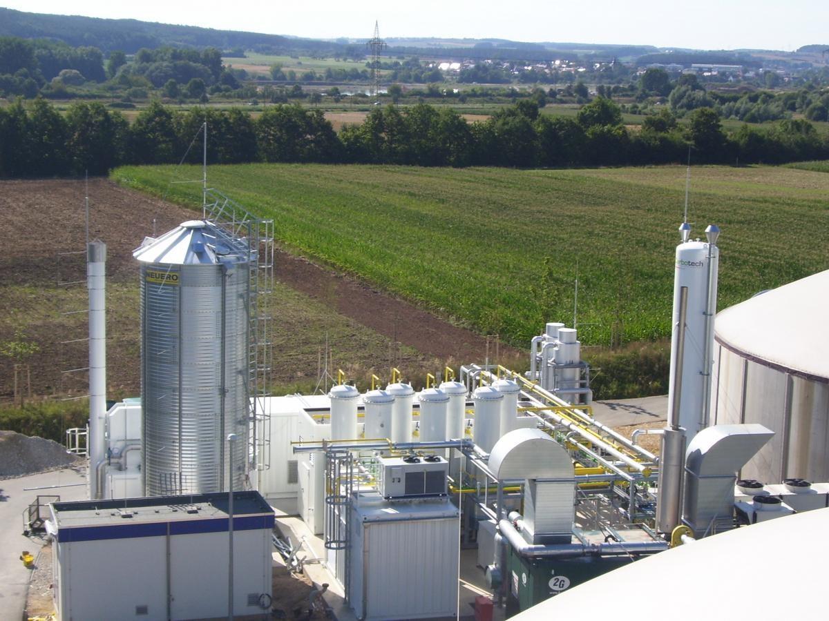 Biogasanlage Quelle: Blitzschutz-Kampke
