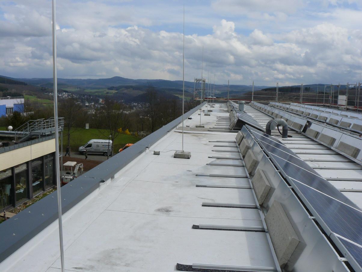 PV-Dachanlage Quelle: ebk-Blitzschutz
