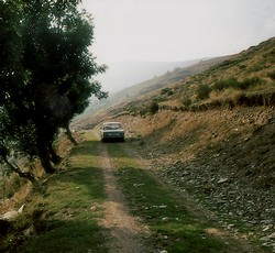 Mit dem BMW 2000 durch die Auvergne