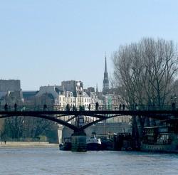 Zurück über Paris