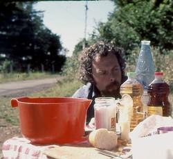 Salat mit Essig und Essig