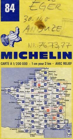 Karte mit Adresse