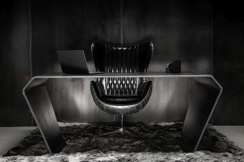 """Pure Eleganz, formschöner Minimalismus, schwebende Schönheit. Stahldesign-Tische wie unser Modell """"KARAT"""" sind absolut einzigartig in der Einrichtungswelt!"""
