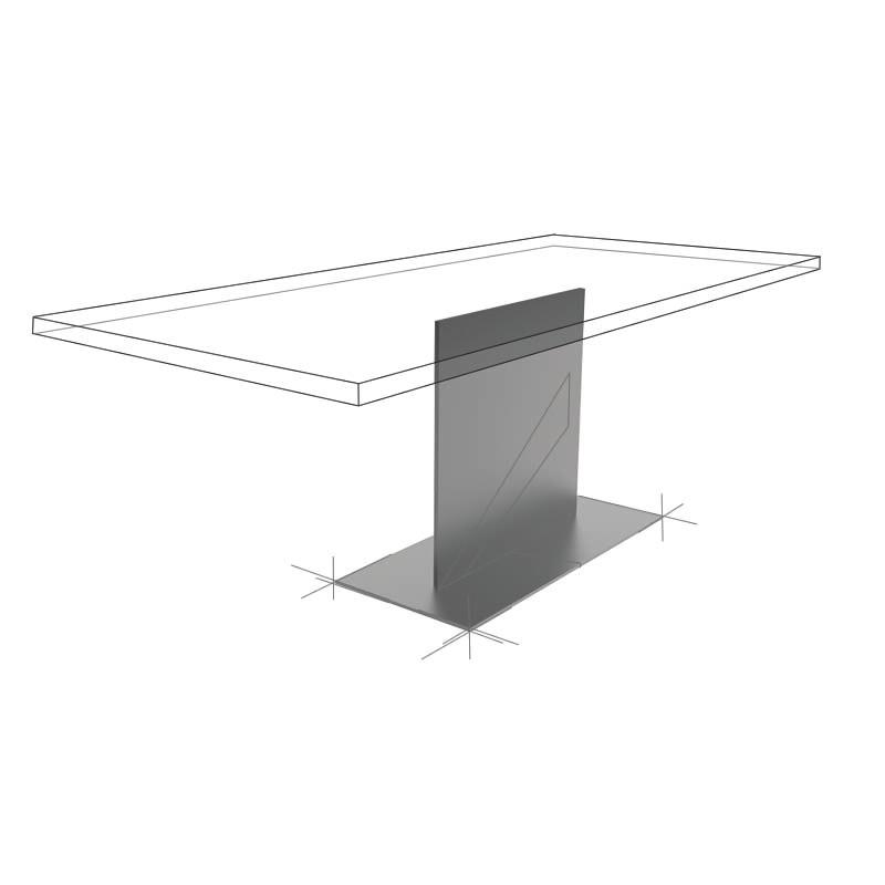 Möbelloft, Moebelloft, Thor, Tisch auf Maß, Tisch selber konfigurieren, Tisch selber gestalten, Designtisch, Designertisch, Tischgestell auf Maß, Tischgestell auf Wunsch, Tischgestell selber designen, Stahlgestell, Holzgestell, Glasgestell, Essen, NRW