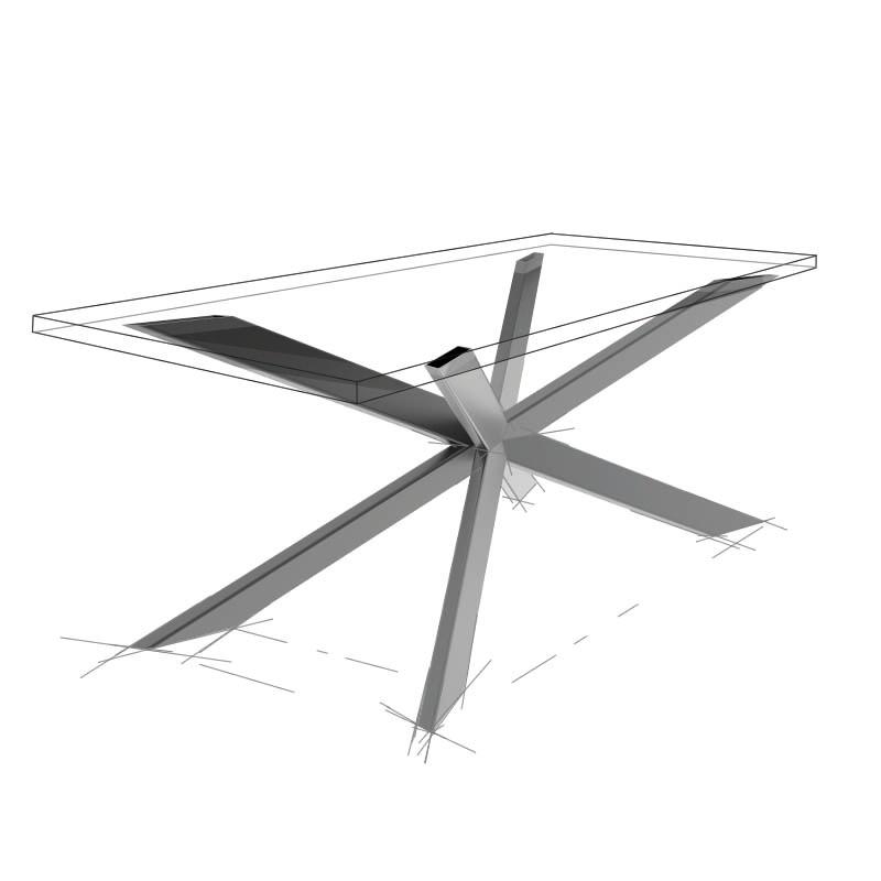 Möbelloft, Moebelloft, Kryptonit, Tisch auf Maß, Tisch selber konfigurieren, Tisch selber gestalten, Designtisch, Designertisch, Tischgestell auf Maß, Tischgestell auf Wunsch, Tischgestell selber designen, Stahlgestell, Holzgestell, Glasgestell, Essen