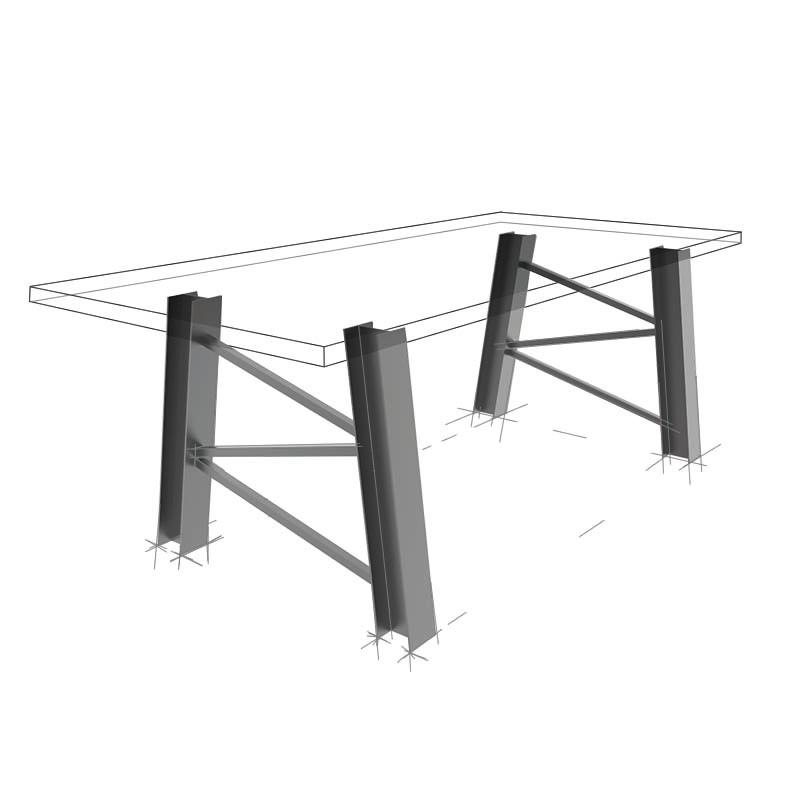 Möbelloft, Moebelloft, Förderturm, Tisch auf Maß, Tisch selber konfigurieren, Tisch selber gestalten, Designtisch, Designertisch, Tischgestell auf Maß, Tischgestell auf Wunsch, Tischgestell selber designen, Stahlgestell, Holzgestell, Glasgestell, Essen