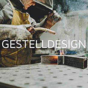 Gestelldesign in der Werkstatt
