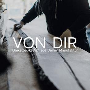 Auswahl von Holz für Designerbank