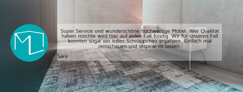 Kunden-Meinung - Sara