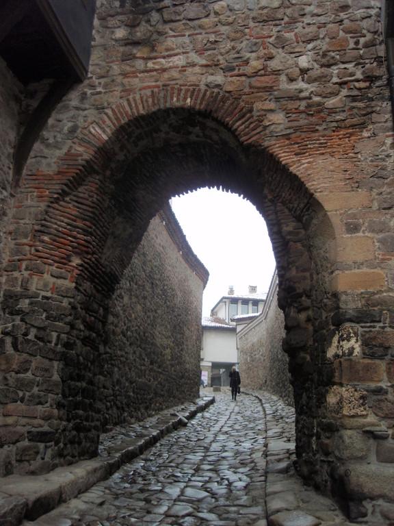 プロヴディフの旧市街