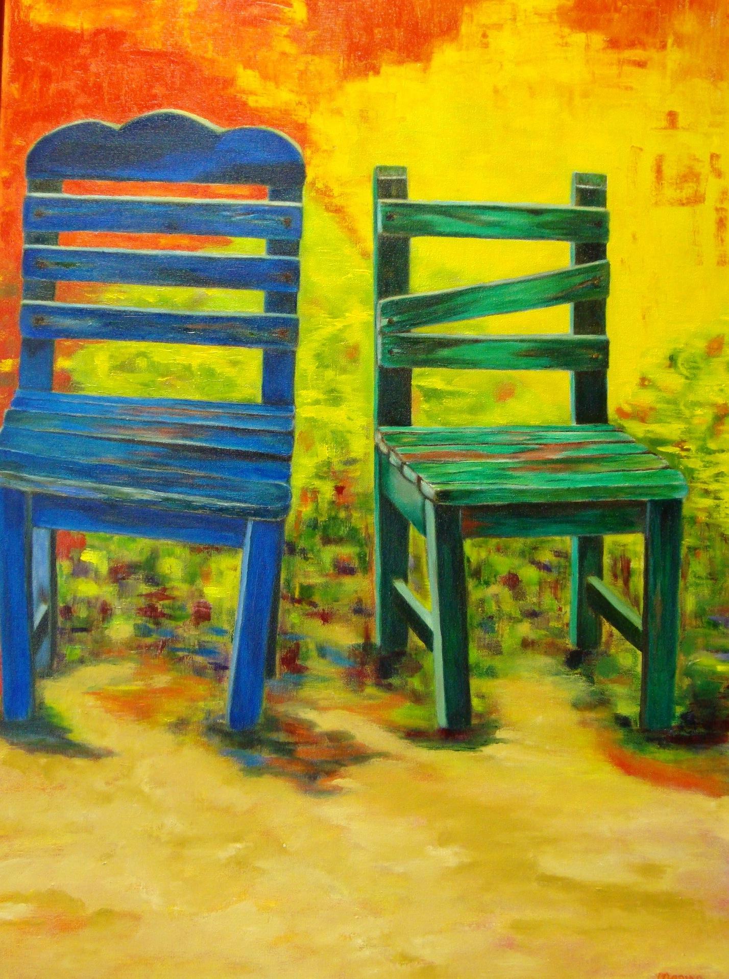 Griekse stoeltjes 80 x 60 br