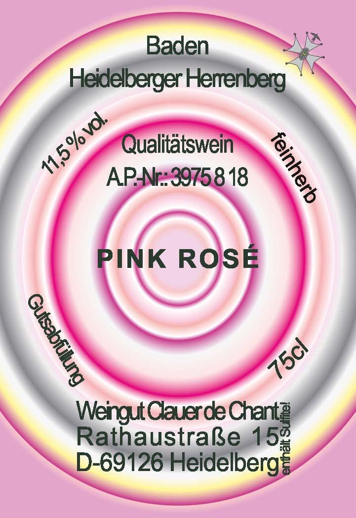 Jugendlich, freche und spritzige Pink-Rosé Variation