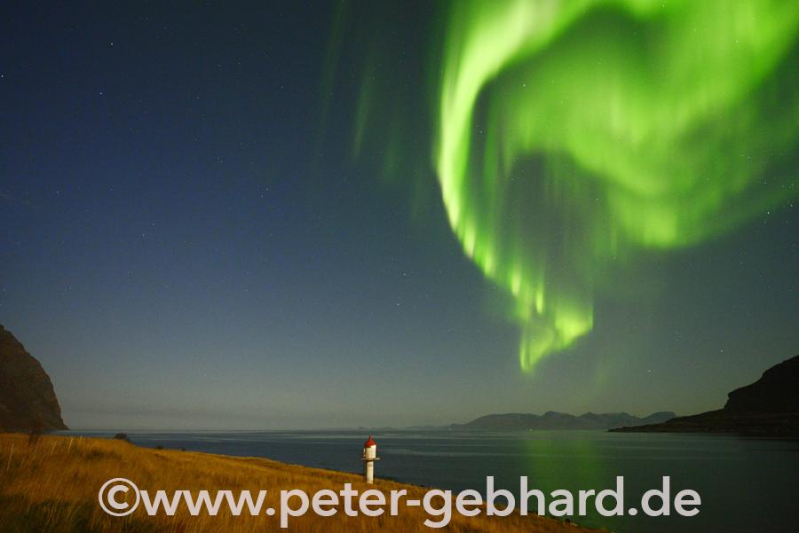 Polarlichter im Norden Europas – das Nordkap ist das Ziel des Bulli-Abenteuers. Danach geht es wieder zurück in die Heimat Paderborn.