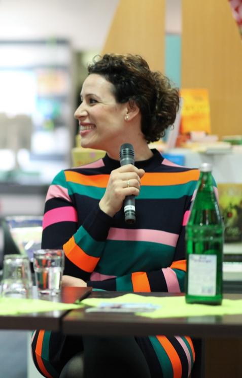 Lissy Ishag - die Paderbornerin moderiert seit Jahren die ZDF-Sendung 'hallo Deutschland'