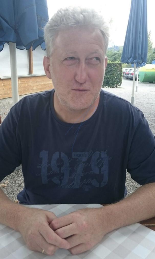 Rüdiger Kühl - der Paderborner ist seit Jahren blind, trotzdem engagiert er sich ehrenamtlich