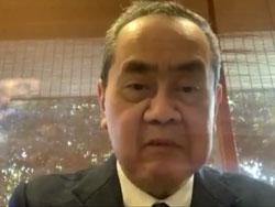 記念講演「コロナ禍の日本と政治」御厨貴氏(東京大学名誉教授)