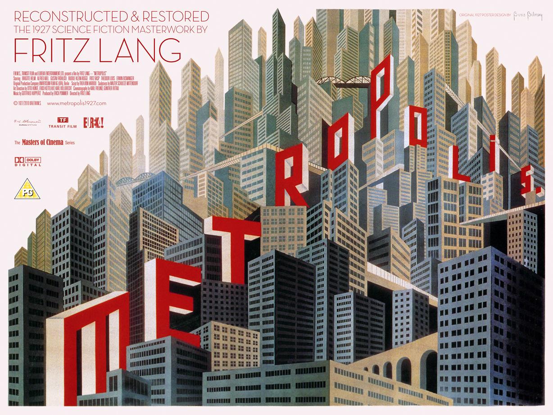 inspiratie Fritz Lang: Metropolis (film, 1927)