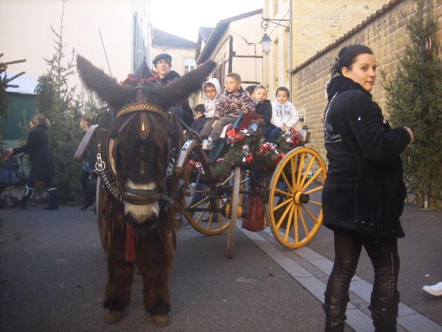 Marché de Noël de Charlieu.