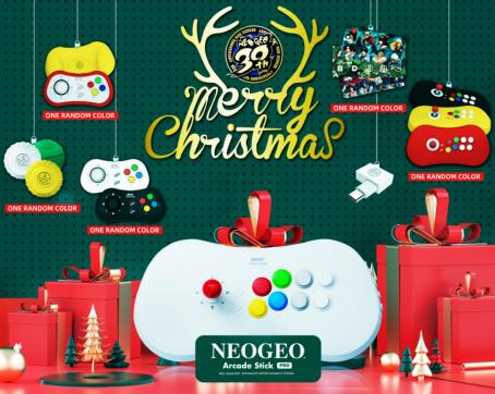NEOGEO Arcade Stick Pro クリスマス限定セット