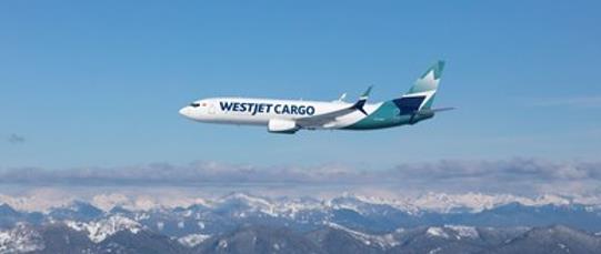 Full-on freight! Image: WestJet Cargo