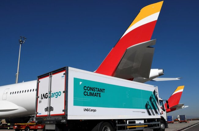 Keeping cool, ramping things up. Image: IAG Cargo
