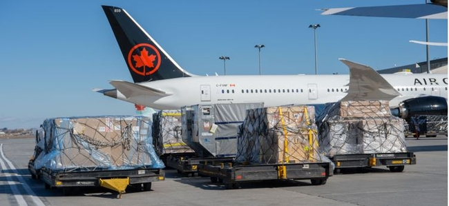 Converted and ready to fly soon! Image: Air Canada