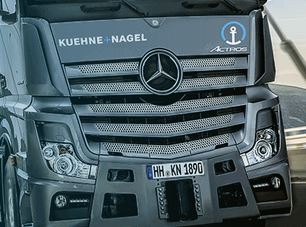 K+N was founded in 1890 as indicated on the license plate of the Mercedes truck