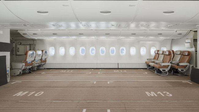 "The world's first A380 ""preighter"". Image: Hi Fly"