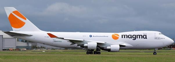 Another B747-400F is coming this month. Image: Donal Morrissey