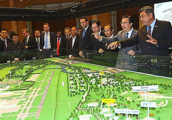 KLIA Aeropolis is expected to give Malaysia's economy a big push