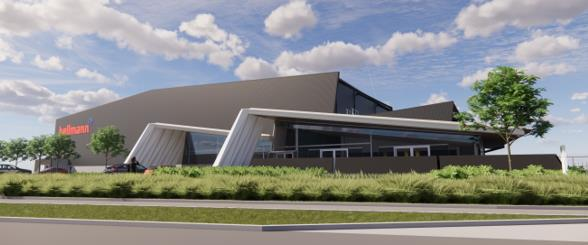Hellmann's state-of-the-art warehouse at Auckland Airport – company courtesy