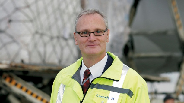 Max Conrady is Head of Cargo at airport operator Fraport AG since November 2018  -  courtesy: t-online