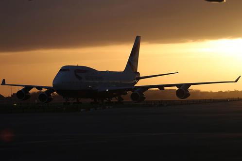 The sun has set on BA's 747 fleet - Image: British Airways