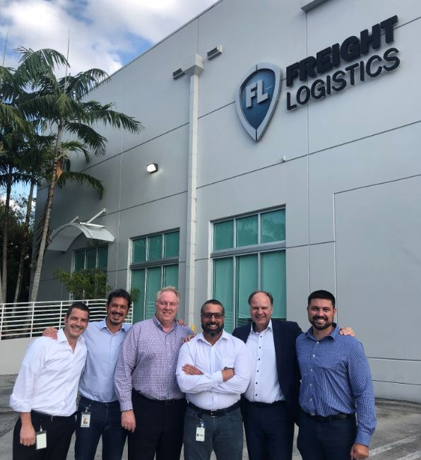 Formerly Freight Logistics, now proud Rhenus staff