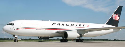 Cargojet doubled their CGN ops, utilizing a B767-300F  -  credit: Cargojet