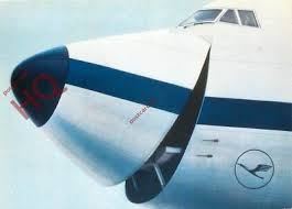 The B747 freighter's nose doors, enabling the loading of oversized cargo, was a powerful sales argument