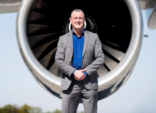 Managing Director Jos Roeven of Maastricht Airport