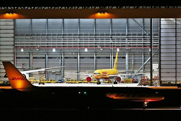 New DHL sorting center at LEJ Airport  /  company courtesy