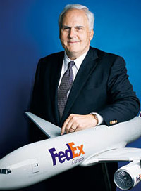 Cutting off Chinese from global trade is wrong, holds FedEx Chief Fred Smith  -  courtesy FedEx
