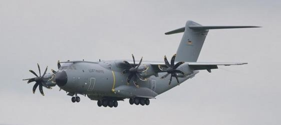 Airbus transporter A400M of the German Armed Forces now flying refugees out of Kabul – courtesy Airbus