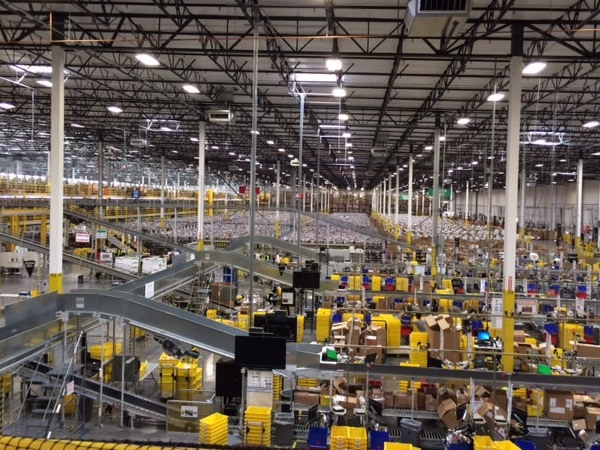 Amazon warehouse in Phoenix, Arizona