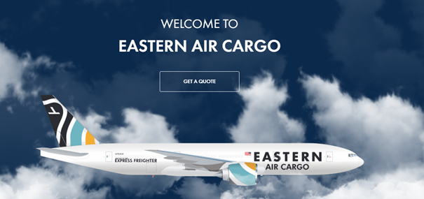Just call it E(astern)-Commerce from now on! Image: Eastern Air Cargo