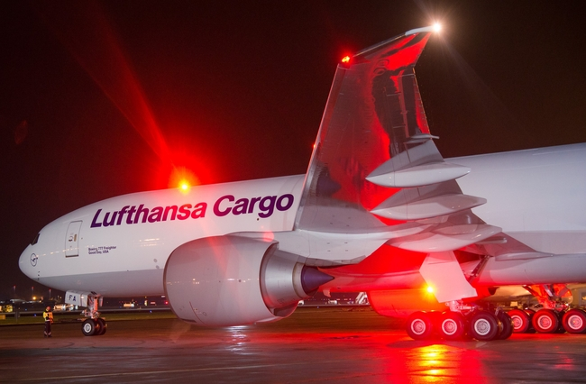 All of LH Cargo's Latin American flights are operated by Boeing 777F aircraft since the beginning of this year  -  images: courtesy LH Cargo