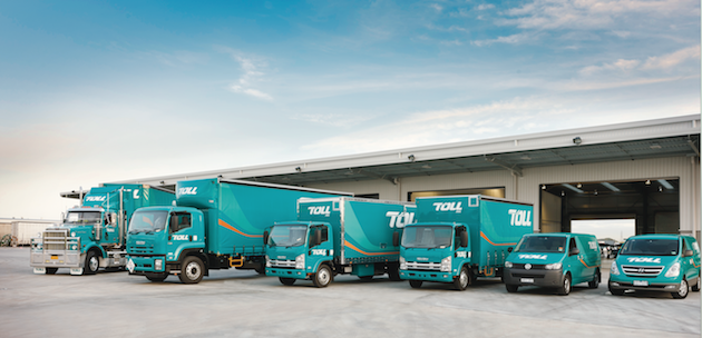 Toll struggles to make money in competitive logistics markets  -  company courtesy