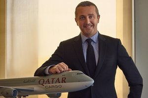 Guillaume Halleux, Chief Officer Cargo. Image: Qatar Airways