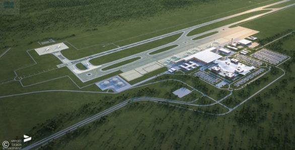 Artist impression of future airport Bugesera International – courtesy: Airport